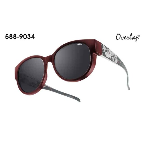 Ideal Polorized Fit-Over Sunglasses 588-9034