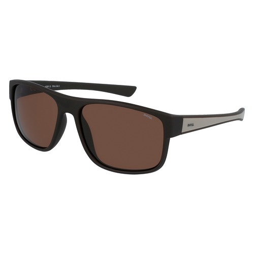 INVU Utra Polarized Matt Brown/Light Grey Men Sunglasses