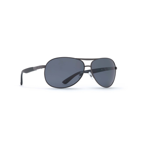 INVU Eyewear Matt  Gun/Ultra Polorised Solid Smoke