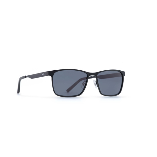 INVU Eyewear Matt Black/Ultra polorise Solid Smoke
