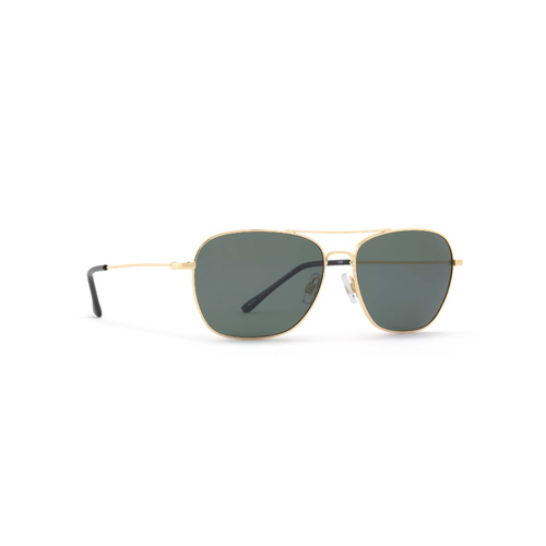 INVU Eyewear Gold/Ultra polorised Solid green
