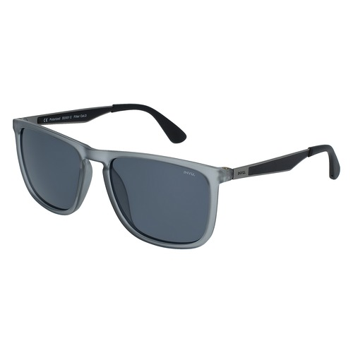 INVU Utra Polarized Matt Transp. Smoke/Matt Gun Men Sunglasses