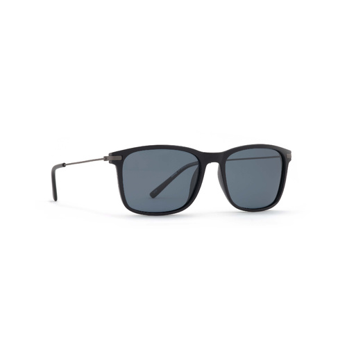 INVU Eyewear Black,Matt Gun/Ultra Polorised Solid Grey